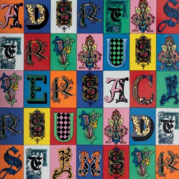 alfabeto versace