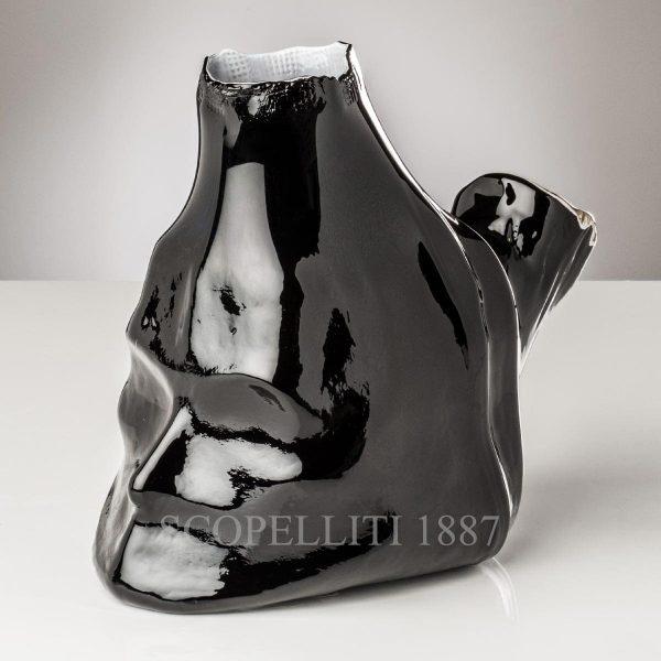 venini bauta vaso edizione limitata nero