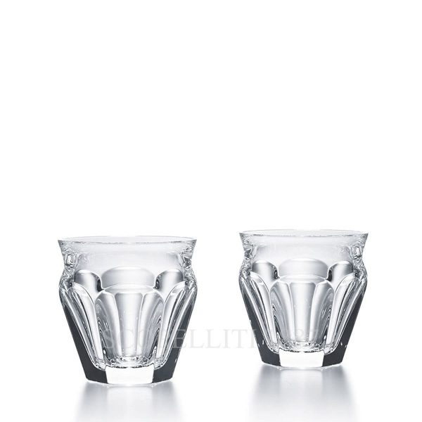 baccarat bicchieri harcourt cristallo