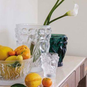 lalique vasi cristallo baccanti