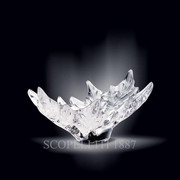 lalique centrotavola in cristallo champs elisees