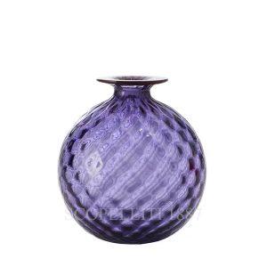 vaso venini nuovo colore indaco balloton