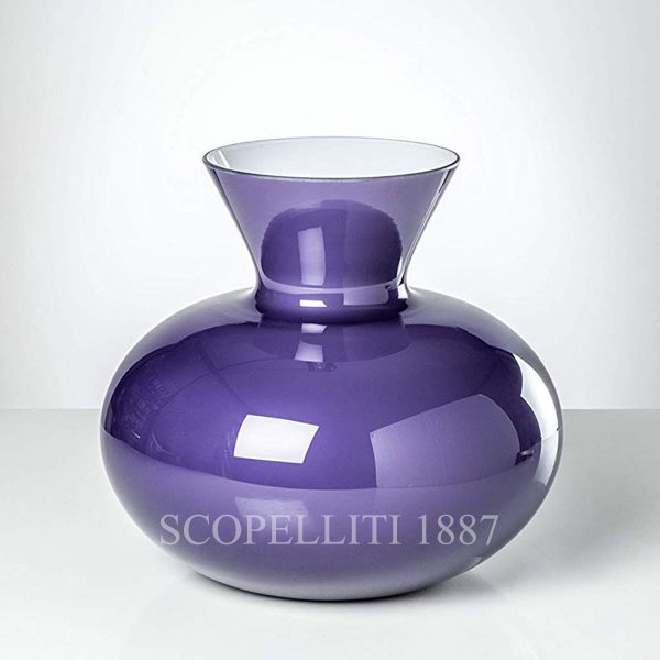 vaso idria venini indaco