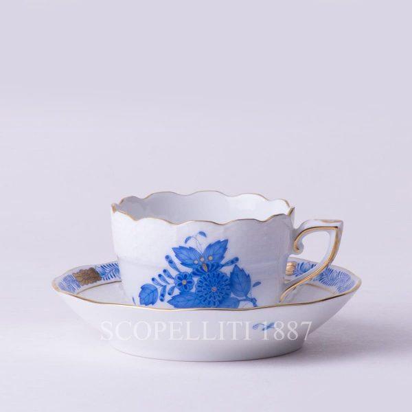 tazza caffè apponyi blue herend