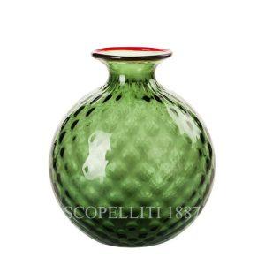 venini vaso verde balloton