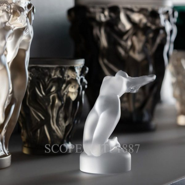 lalique chrysis scultura in cristallo