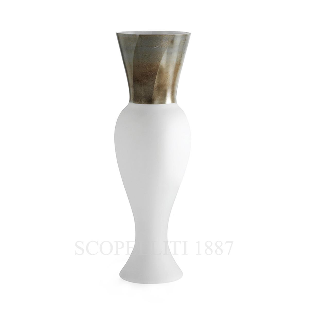 venini vaso bianco regina