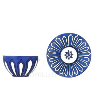 hermes tazza latte bleus d'ailleurs
