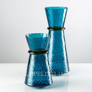 venini tiara vaso blu nuovo colore