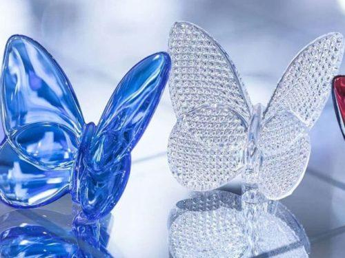 Farfalla Baccarat – Il volo di cristallo delle farfalle Baccarat