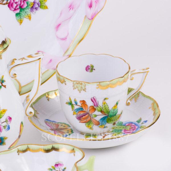 herend regina victoria tazza caffè