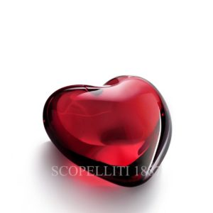 coeur rosso amore baccarat