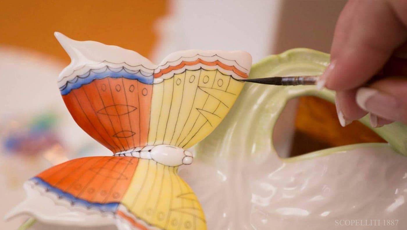 herend porcellana decorata a mano