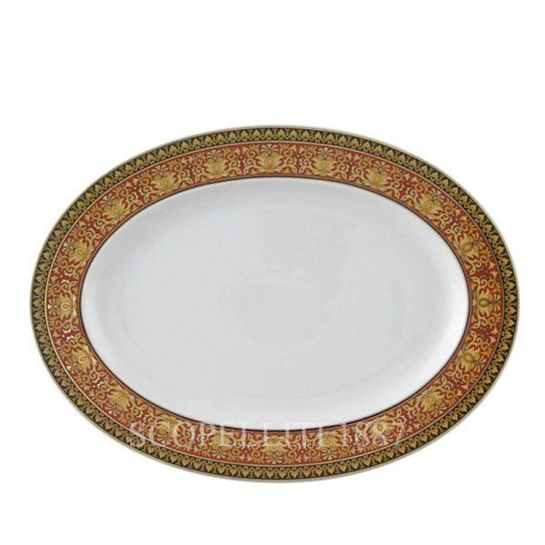 piatto ovale medusa versace