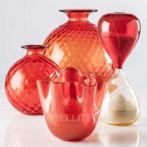 venini vaso rosso natale