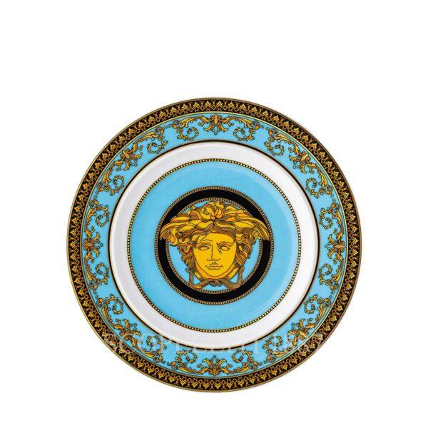 piattino 18 cm medusa colours celeste versace