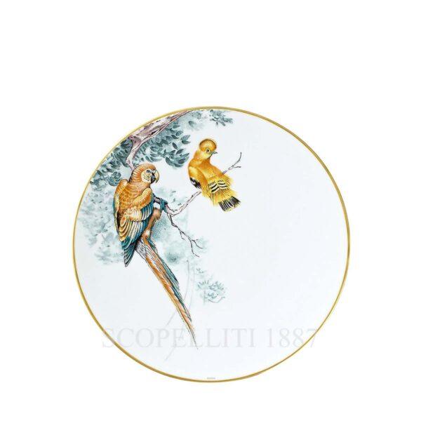 piatto piano carnets d'equateur decorazione oiseaux hermes