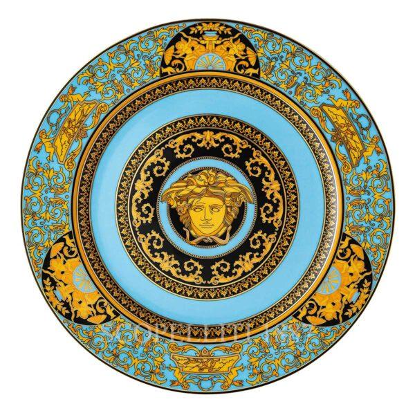 piatto segnaposto 30 cm medusa colours celeste versace