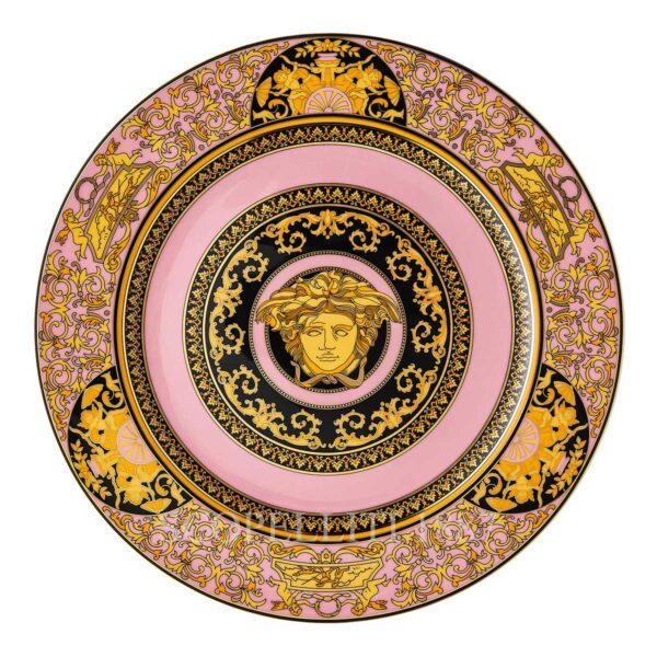 piatto segnaposto 30 cm medusa colours rosa versace