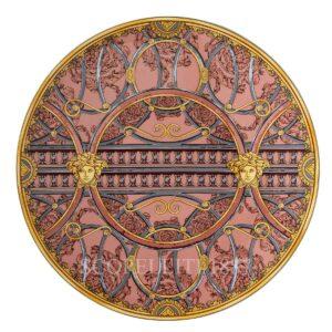 piatto segnaposto 33 cm scala del palazzo rosa versace