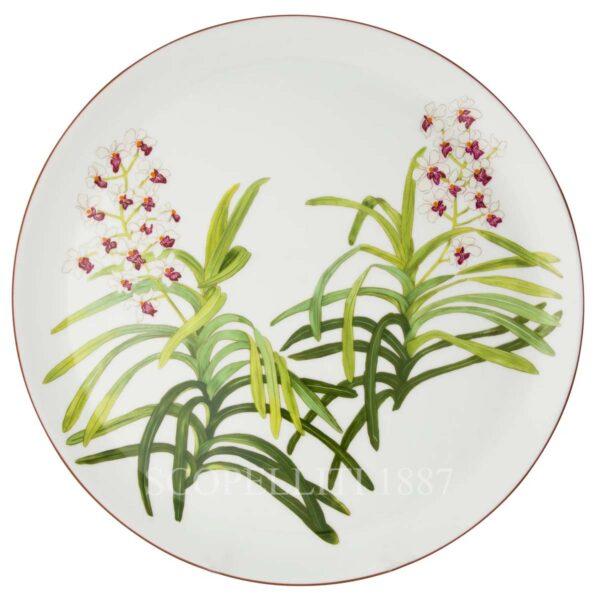 piatto torta hermes jardin des orchidees
