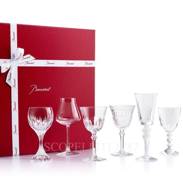 set 6 bicchieri wine therapy baccarat