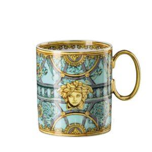 tazza mug scala del palazzo verde versace