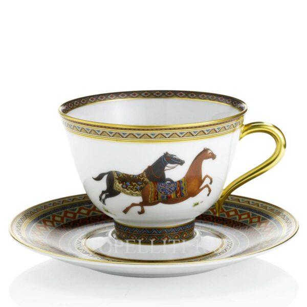 tazza te con piattino n 1 cheval d orient hermes