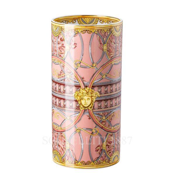 vaso 24 cm scala del palazzo rosa versace