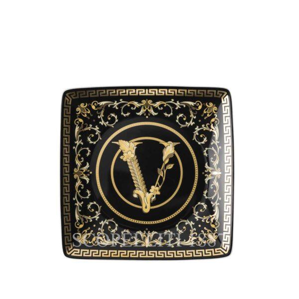 coppetta quadra virtus gala black versace