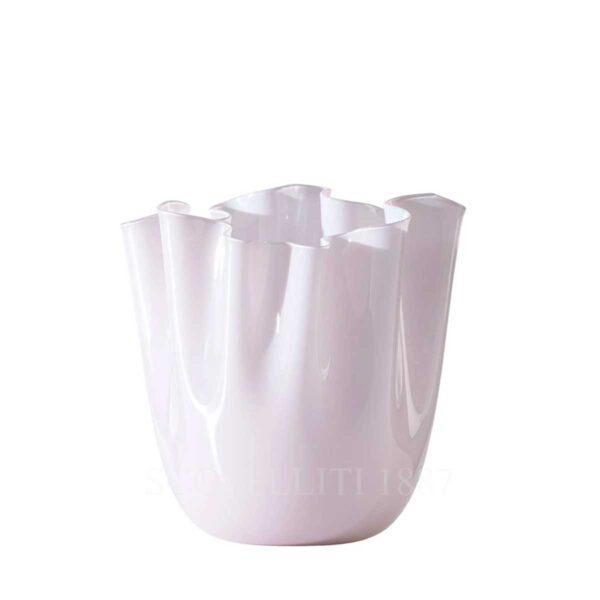 venini fazzoletto rosa cipria medio