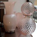 venini vasi rosa cipria new